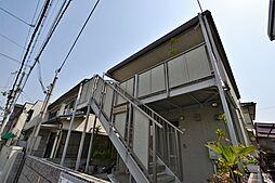 大阪府松原市岡3丁目の賃貸アパートの外観