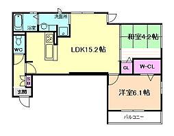 D House north[1階]の間取り