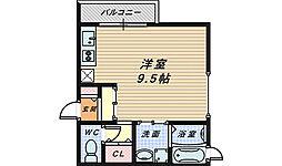 リバタイセイ[2階]の間取り
