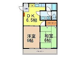 アネックス 2[2階]の間取り