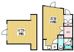 ル・ドーム[3階]の間取り