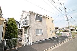 東京都立川市幸町6の賃貸アパートの外観