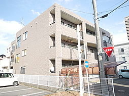 神奈川県厚木市恩名2丁目の賃貸マンションの外観