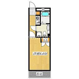 パールマンション東十条[113号室]の間取り