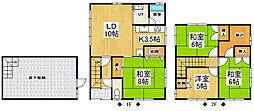 [一戸建] 北海道小樽市真栄1丁目 の賃貸【/】の間取り