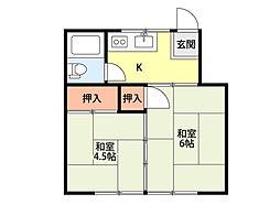 月岡駅 2.0万円
