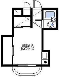 メンバーズルーム横浜[1階]の間取り