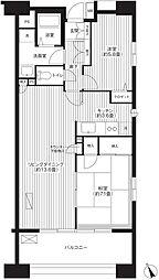 MFビル[10階]の間取り