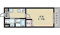 LIBRO[2階]の間取り