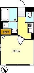 T-net アシュー[202号室]の間取り
