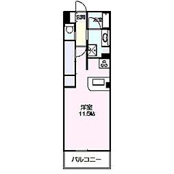 ロイヤルパーク多摩川2番館[441号室]の間取り