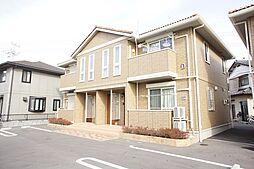 栃木県小山市神鳥谷2の賃貸アパートの外観