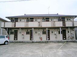 愛知県岡崎市赤渋町字下河原の賃貸アパートの外観