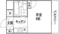 コアクレスト北綾瀬[3階]の間取り