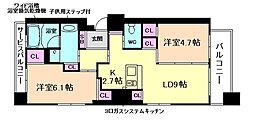 Lega梅北[3階]の間取り