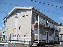 岐阜県関市山田の賃貸アパートの外観