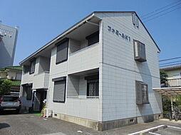 滋賀県彦根市大東町の賃貸アパートの外観