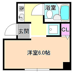 ニューストークアパートメント禁野本町[3階]の間取り