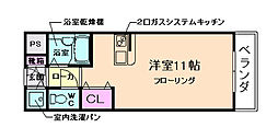 グリーンハイツ豊川I[1階]の間取り