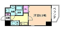 ララプレイス京町堀プロムナード[7階]の間取り