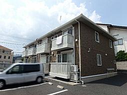 栃木県真岡市並木町3の賃貸アパートの外観