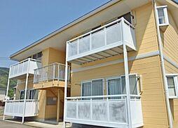 長野県千曲市大字稲荷山の賃貸アパートの外観