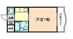 OAK Beer福島[5階]の間取り