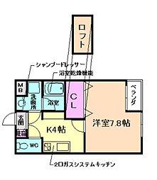NOIE[2階]の間取り