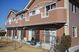 茨城県下妻市山尻の賃貸アパートの外観