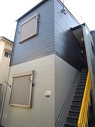 東京都大田区東蒲田1丁目の賃貸アパートの外観