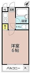 シャトレー小松里(コマツリ)[3階]の間取り