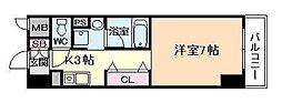 デセンシアISHIFUNE[4階]の間取り
