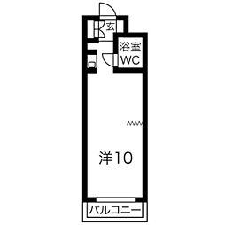 ロマネスク赤坂第2[503号室]の間取り