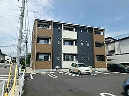 栃木県宇都宮市鶴田2の賃貸アパートの外観