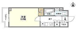 京王線 上北沢駅 徒歩9分の賃貸マンション 3階1Kの間取り