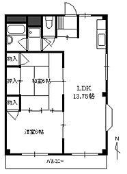 KSマンション[302号室]の間取り