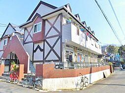神奈川県大和市上草柳9丁目の賃貸アパートの外観