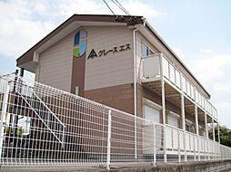 愛知県海部郡蟹江町本町8丁目の賃貸アパートの外観