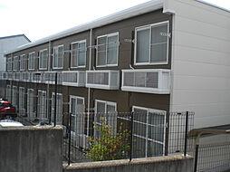 愛知県岡崎市井田町字荒居の賃貸アパートの外観