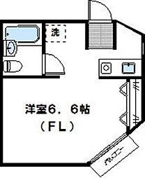 神奈川県川崎市高津区末長2丁目の賃貸アパートの間取り