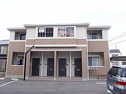 愛知県日進市浅田町上ノ山の賃貸アパートの外観