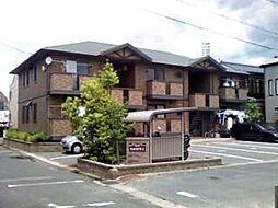 愛知県豊橋市神ノ輪町の賃貸アパートの外観