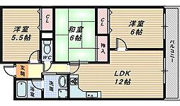 メゾンリーガル48[7階]の間取り