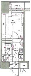 東京蒲田スクエアタワー[7階]の間取り