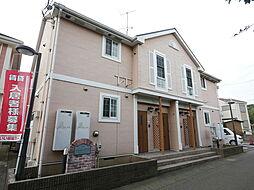 神奈川県綾瀬市早川の賃貸アパートの外観