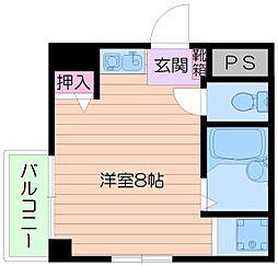 倉田ハイツ司[4階]の間取り