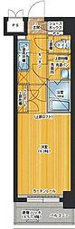 アクタス桜坂レノア[602号室]の間取り