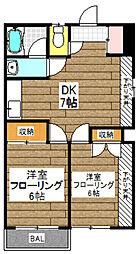 キャステルオギノ[2階]の間取り