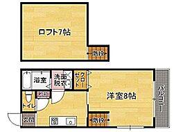 メゾン飯倉II[1階]の間取り