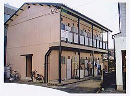 市川コーポ[203号室]の外観